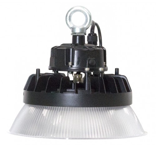 Westgate 50W LED High-Lumen Mini UFO High Bay with PC Reflector Included, 120-277 VAC