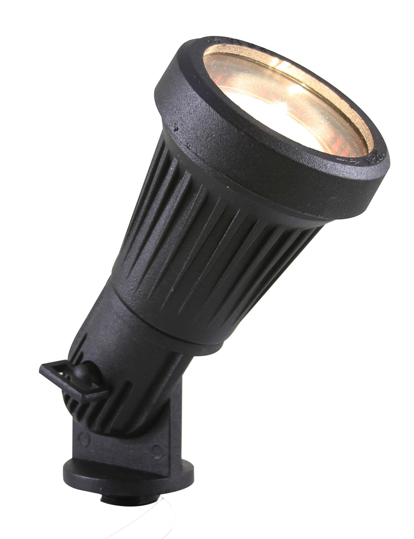 Westgate 12V 5W LED Aluminum Textured Directional Light, Black or Bronze Finish