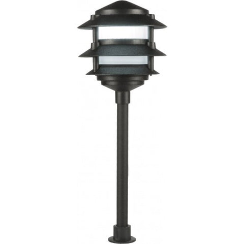 Orbit L2030 LED Outdoor 3-Tier Pagoda Path Landscape Light - 12V, Cast Aluminum