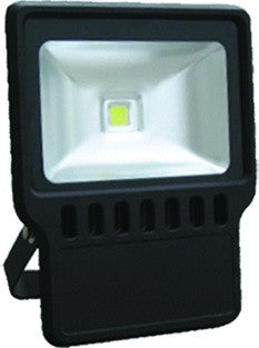Westgate 100W LED Flood Light with Trunnion - 120-277V, Dark Bronze - Southern California Electric