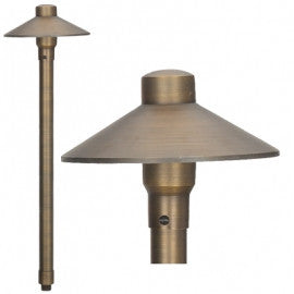Best Quality Lighting LV23 Die Cast Brass Low Voltage 12V Path Light - Southern California Electric