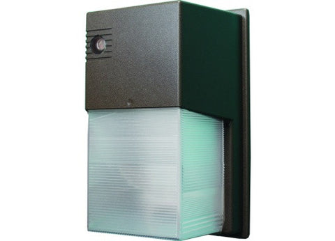 Westgate 30W LED Wall Pack Non-Cutoff with Photo Control 120V-277V - Dark Bronze