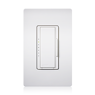 Lutron Maestro MA-S8AM Single Pole/ Multi-Location 277 Volt/ 8 Amp Digital Switch - White