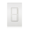 Lutron Maestro MA-L3T251 Single Pole 120 Volt/ 300 Watt Dual Digital Fade Dimmer/ Timer - White - Southern California Electric