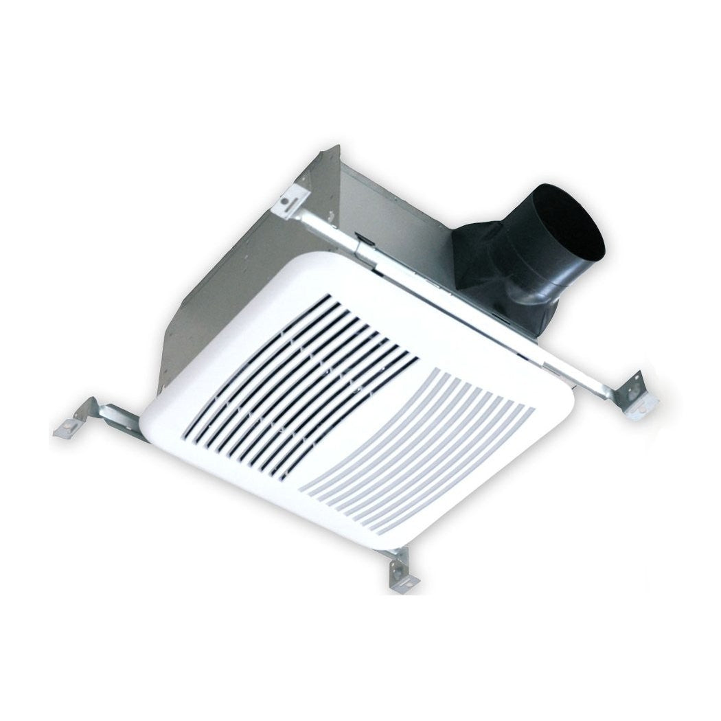 Airzone SE120-S Low Profile Fan, Shallow Housing, Ultra Quiet AC Motor, 5-5/8""