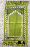 Toddler prayer rug - Green 1
