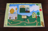 Little Muslimah Activity Placemat - A Little Muslim Shoppe - 7