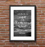 And when he saw the rainfall - Hadith - Instant Digital Download - A Little Muslim Shoppe - 2