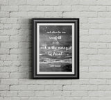 And when he saw the rainfall - Hadith - Instant Digital Download - A Little Muslim Shoppe - 1
