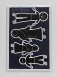 My Little Muslim Stick Figure Family - Car Stickers - A Little Muslim Shoppe - 2