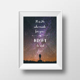 It is He who made the Night - Instant Digital Download - A Little Muslim Shoppe - 1