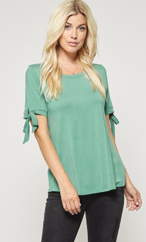 Ribbon Sleeve - Green