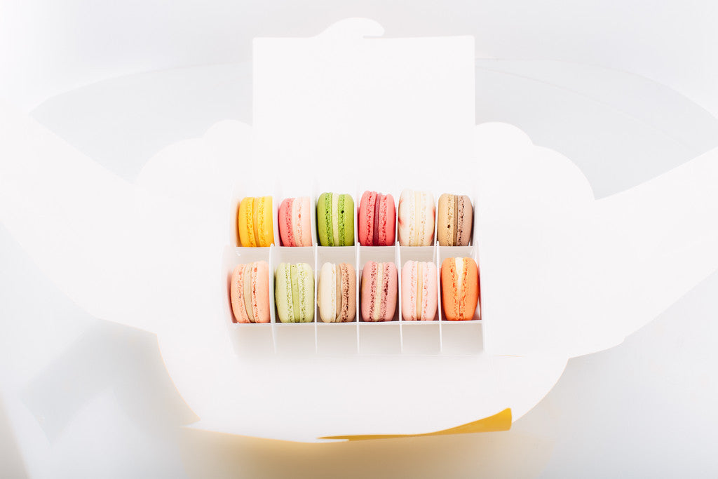 Box of 12 French Macarons