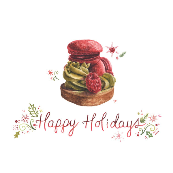 Butter Avenue Happy Holiday Card