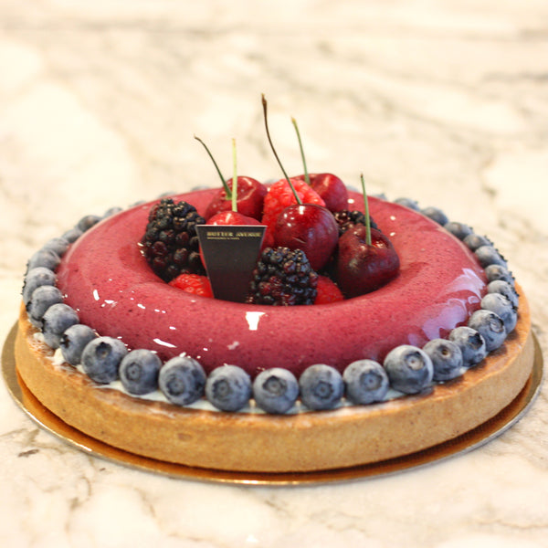 Ontario Blueberry Tart
