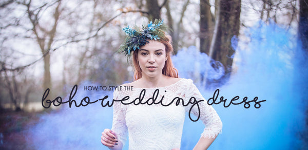 How to Style the Boho Wedding Dress Look
