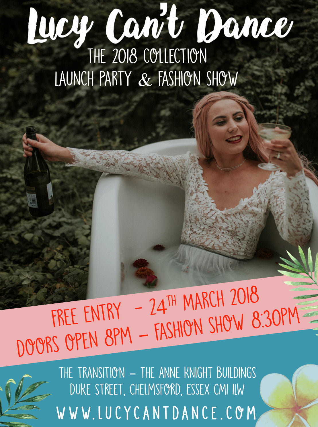 New 2018 Collection Fashion Show & Launch Party