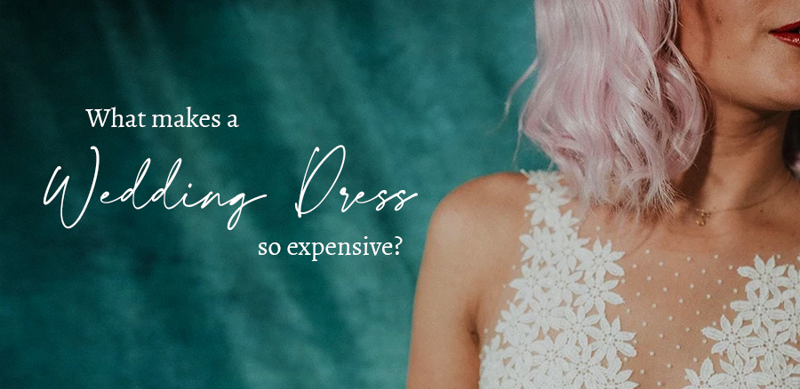 What makes wedding dresses so expensive banner image