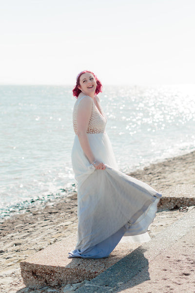 Mrs Vicky Pears - One of our unique wedding dress brides