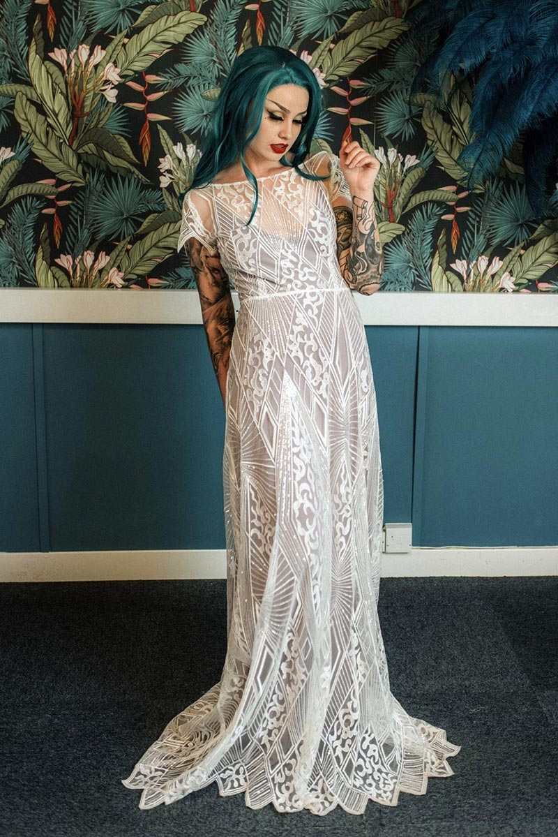 Unique \u0026 Alternative Dip Dye Wedding Dresses \u2013 Lucy Can\u0027t Dance