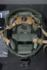 Hard Head Veterans Ballistic Helmet with Epic Air Pads