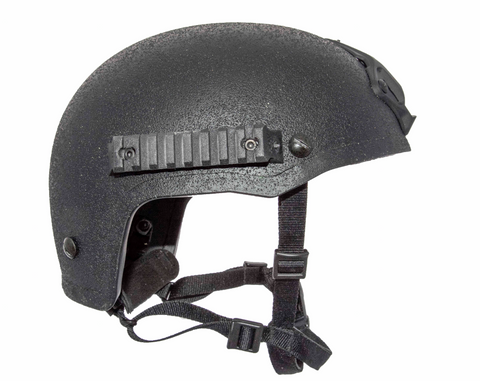 Ballistic Helmet with MIL-STD 1913 Rail