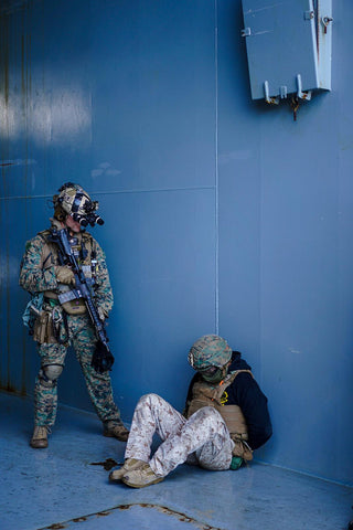 VBSS with ATE helmet