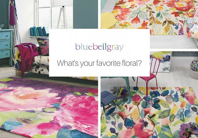 Bluebellgray: Find your perfect floral - The Catwalk Rugs Journal