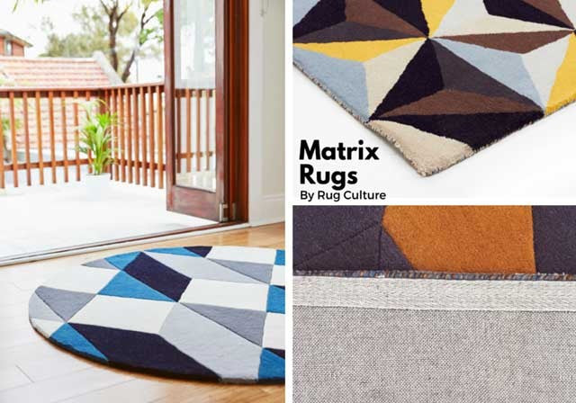 Matrix Rugs, now available - The Catwalk Rugs Journal