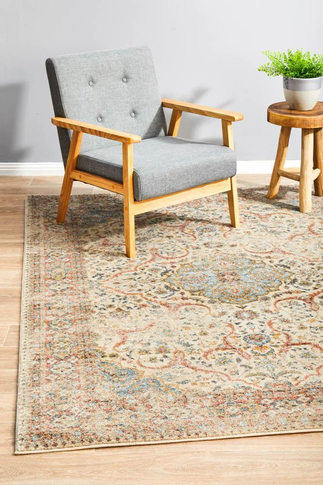 The Legacy - A faded Persian-inspired high-traffic rug