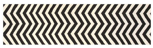 Chevron runner rug