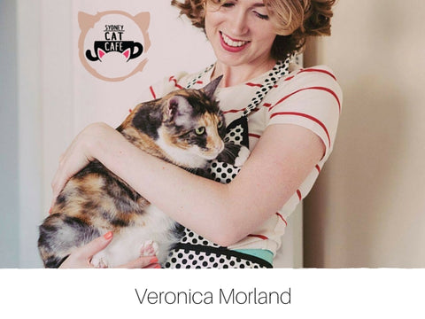 Interview: Veronica Morland from Sydney Cat Cafe