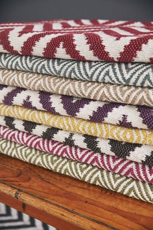 Skandinavian Rugs multi colour stacked