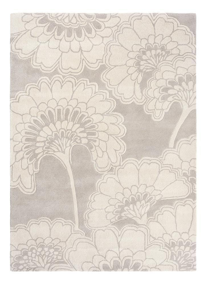Florence Broadhurst Japanese Floral in Oyster : 039701