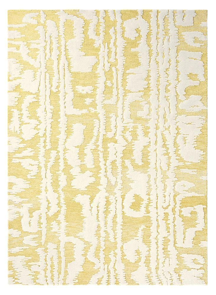 Florence Broadhurst Waterwave Stripe in Citron : 039906