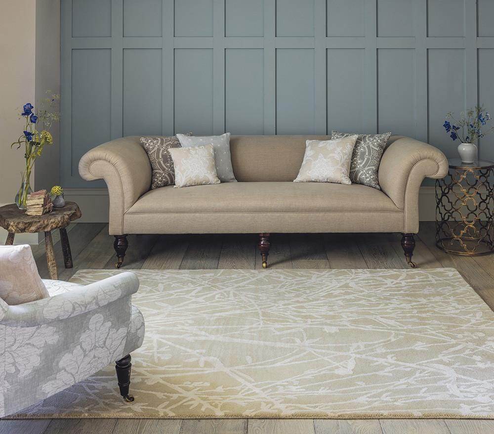 Sanderson Meadow Rug No.46809 in Linen