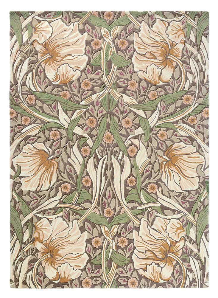 William Morris - Pimpernel in Aubergine