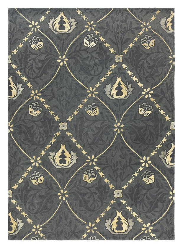 William Morris - Pure Trellis in Black Ink