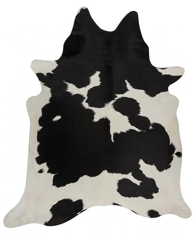 Natural Cowhide in Black & White