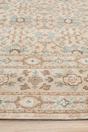Eternal Sari in Bone Colour - Available in Rug and Runner