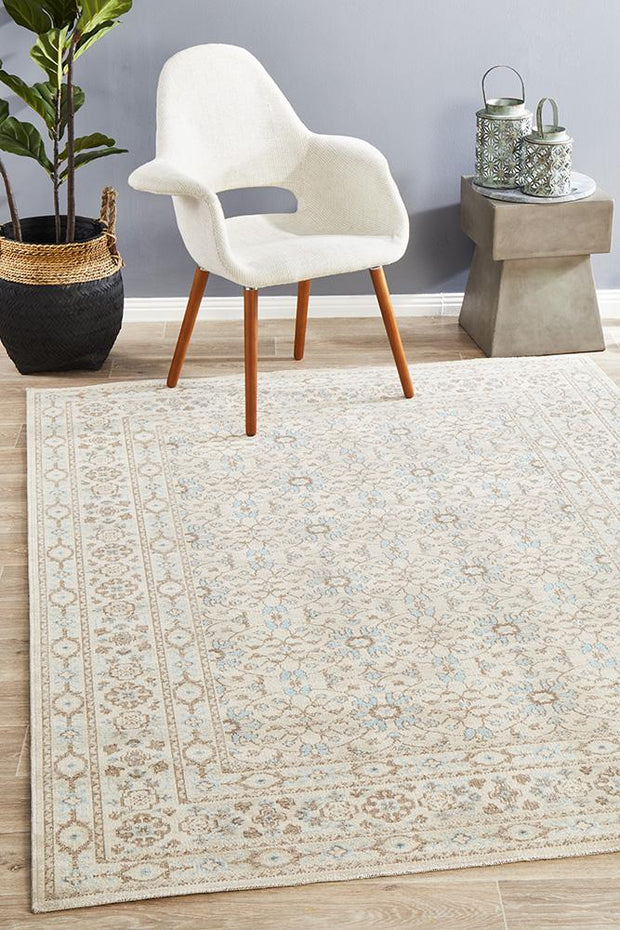 Rug Culture Eternal Whisper Washed Bone Rug