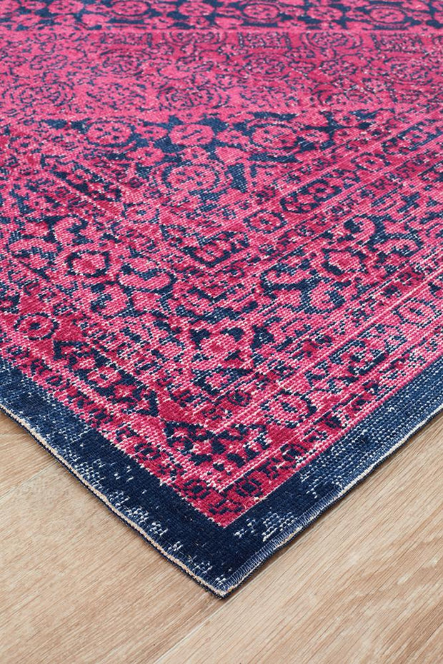 Eternal Esfahan in Magenta - Available in Rug and Runner
