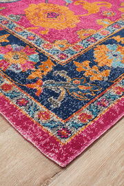 Eternal Tabriz in Hot Pink - Available in Rug and Runner