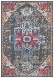 Eternal Mashhad in Pastel Grey - Available in Rug and Runner