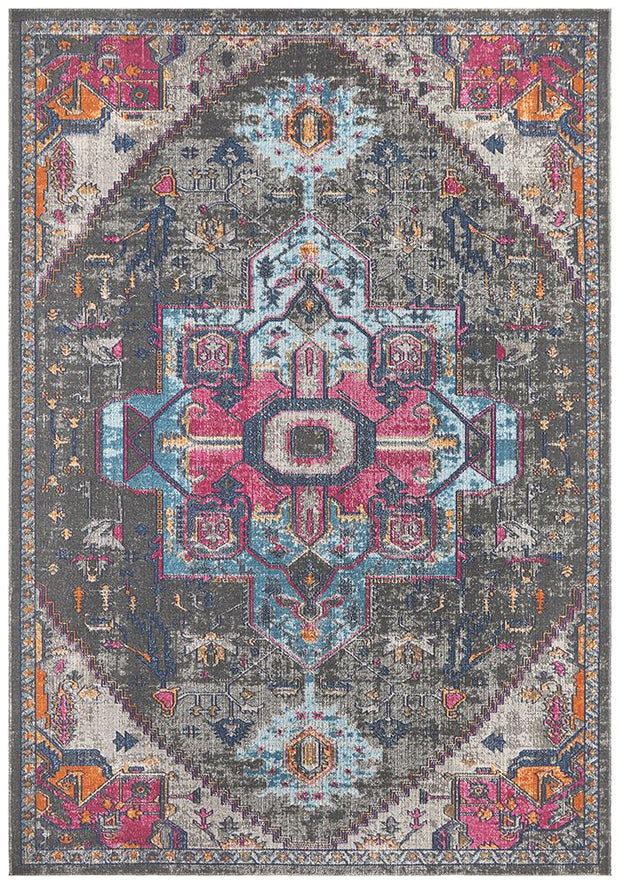 Rug Culture Eternal Whisper Quad Grey Runner Rug