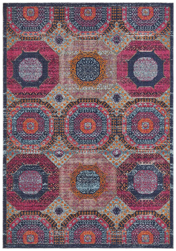 Eternal Yazd in Multi Colour - Available in Rug and Runner