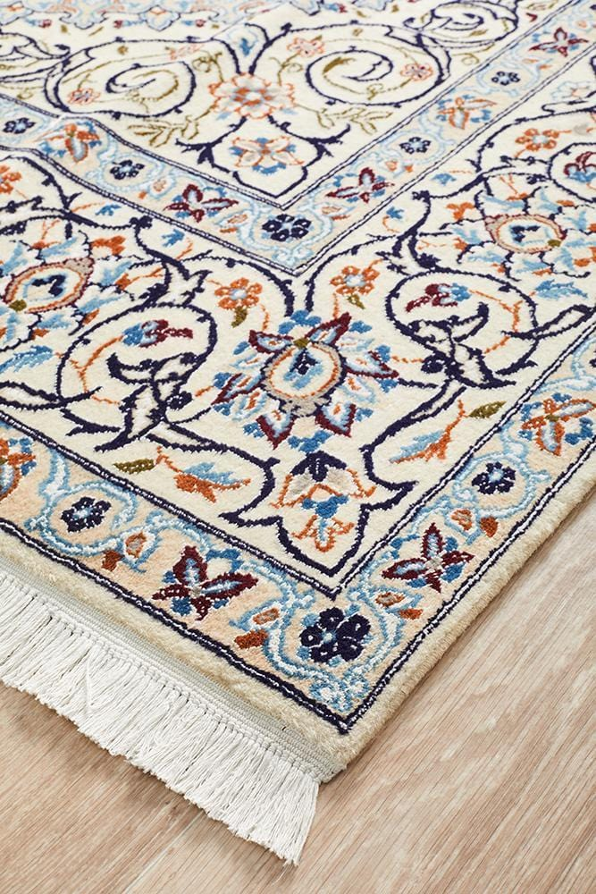 Hand Knotted Persian Fine Quality Nain [297X200CM]