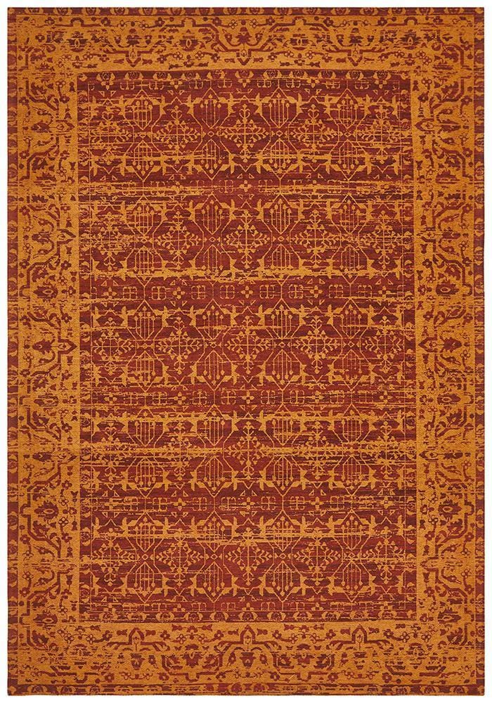 Magnolia in Tribal Paprika