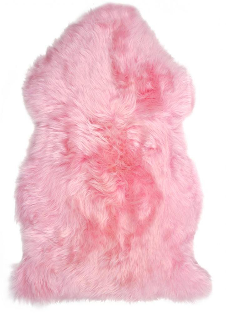 New Zealand Premium Sheepskin in Hot Pink