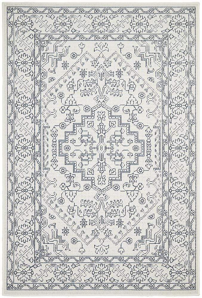 Seaside Tribal Indoor | Outdoor in White
